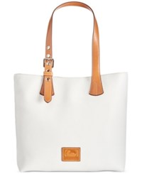 Dooney And Bourke Emily Tote White
