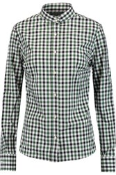 Stella Jean Checked Cotton Shirt Black
