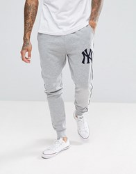 Majestic New York Yankees Joggers In Grey