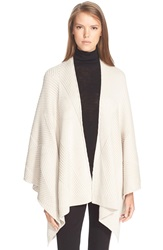 Rag And Bone 'Blithe' Merino Wool Poncho Antique White