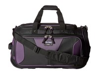 Travelpro Tpro Boldtm 2.0 22 Expandable Duffel Bag Black Purple Duffel Bags Multi
