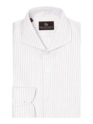 Chester Barrie Tailored Fit Cutaway Collar Formal Shirt Grey