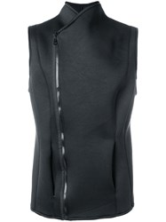 Alchemy Zipped Vest Black