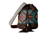 The Sak Sayulita Drawstring Brown Tribal Drawstring Handbags