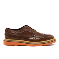 Paul Smith Ps By Men's Grand Leather Brogues Tan Princess Calf