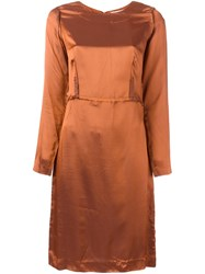 Maison Margiela Vintage 'Inside Out' Dress Brown