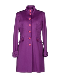 Versus Coats Purple