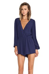 Lovers Friends Monday To Friday Romper Navy