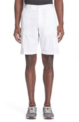 Men's Paul And Shark Stretch Cotton Cargo Shorts
