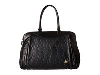 Vivienne Westwood Braccialini Diamond Orb Bags Shopping Black Satchel Handbags