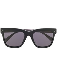 Zadig And Voltaire Oversized Frame Sunglasses Black