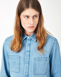 Gant Rugger The Denim Shirt Blue