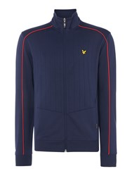 Lyle And Scott Men's Drop Needle Track Jacket Navy
