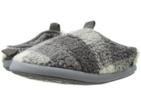 Bedroom Athletics Gibson Grey White Men's Slippers Gray