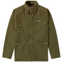 Monitaly Twill Coverall Green