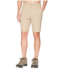 Mountain Khakis Equatorial Stretch Shorts Relaxed Fit Classic Khaki Pink