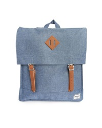 Herschel Navy Satchel Backpack