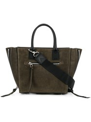 Barbara Bui Shopper Tote Green