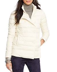 Lauren Ralph Lauren Double Breasted Down Jacket