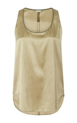 Alexis Mabille Silk Sand Tank