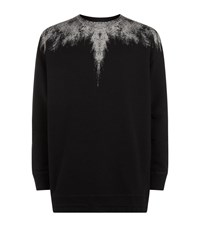 Marcelo Burlon Sketch Chest Jumper Male Black