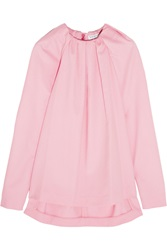Vionnet Wool And Angora Blend Top Pink
