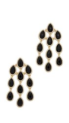Juliet And Company Cleo Chandelier Earrings Black