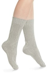 Treasure And Bond Cable Crew Socks Ivory