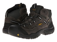 Keen Utility Braddock Mid Wp Gargoyle Forest Night Men's Work Lace Up Boots Black