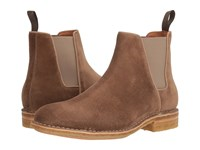 Aquatalia By Marvin K Oscar Taupe Dress Suede Men's Boots Brown
