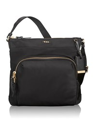 Tumi Voyageur Capri Leather Accented Crossbody Bag Black