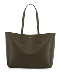 Tom Ford New Small T Tote Bag Green Pattern