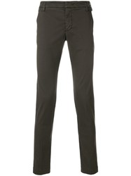 Entre Amis Slim Fit Trousers Brown
