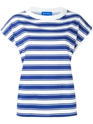 Mih Jeans 'Plage' T Shirt Blue