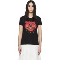 Kenzo Black Limited Edition Chinese New Year Classic Tiger T Shirt