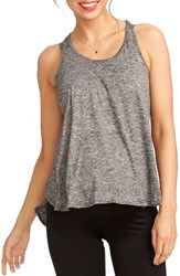 Rosie Pope Women's Paula Racerback Maternity Tank Heather Grey