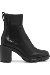 Rag And Bone Shiloh High Leather Ankle Boots Black