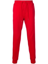 Polo Ralph Lauren Drawstring Track Trousers Red