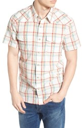 Lucky Brand Men's San Berdu Plaid Linen Shirt