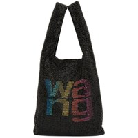Alexander Wang Black And Multicolor Mini Wanglock Shopper Tote