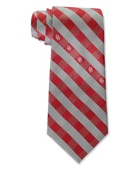 Eagles Wings Oklahoma Sooners Checked Tie Team Color