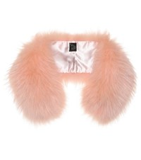 Mr And Mrs Italy Fur Collar Pink