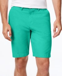 Tommy Hilfiger Men's Core Classic Fit Chino Shorts Lake Blue