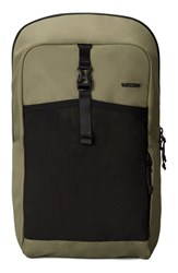Men's Incase Designs 'Cargo' Backpack Green Olive Black