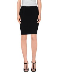 Lupattelli Skirts Knee Length Skirts Women Black