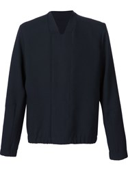 Tim Coppens 'Bonded Tailored Bomber' Jacket Blue
