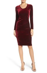 Fraiche By J Women's Velvet Body Con Dress