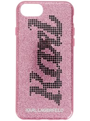 Karl Lagerfeld Yoni Alter Iphone 8 Case Pink And Purple
