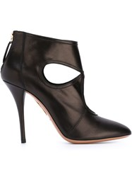 Aquazzura 'Sexy Thing' Booties Black