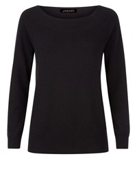 Jaeger Cashmere Sweater Black